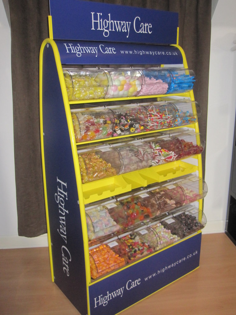 corporate picknmix stand