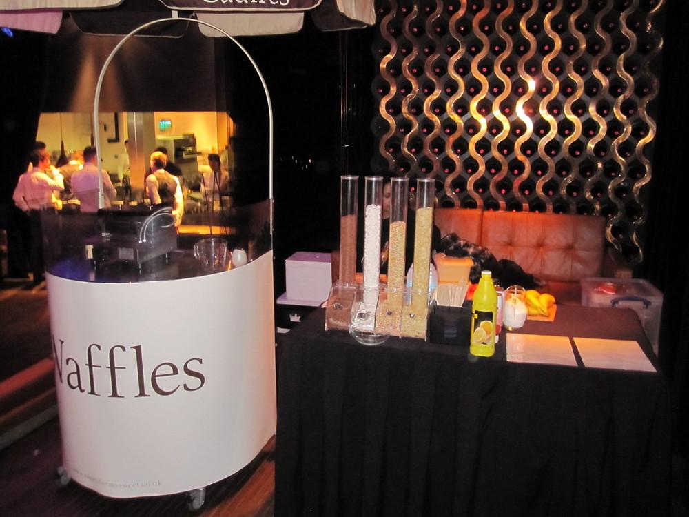 waffle machine hire london