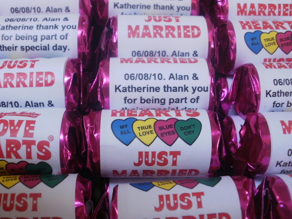love hearts with text