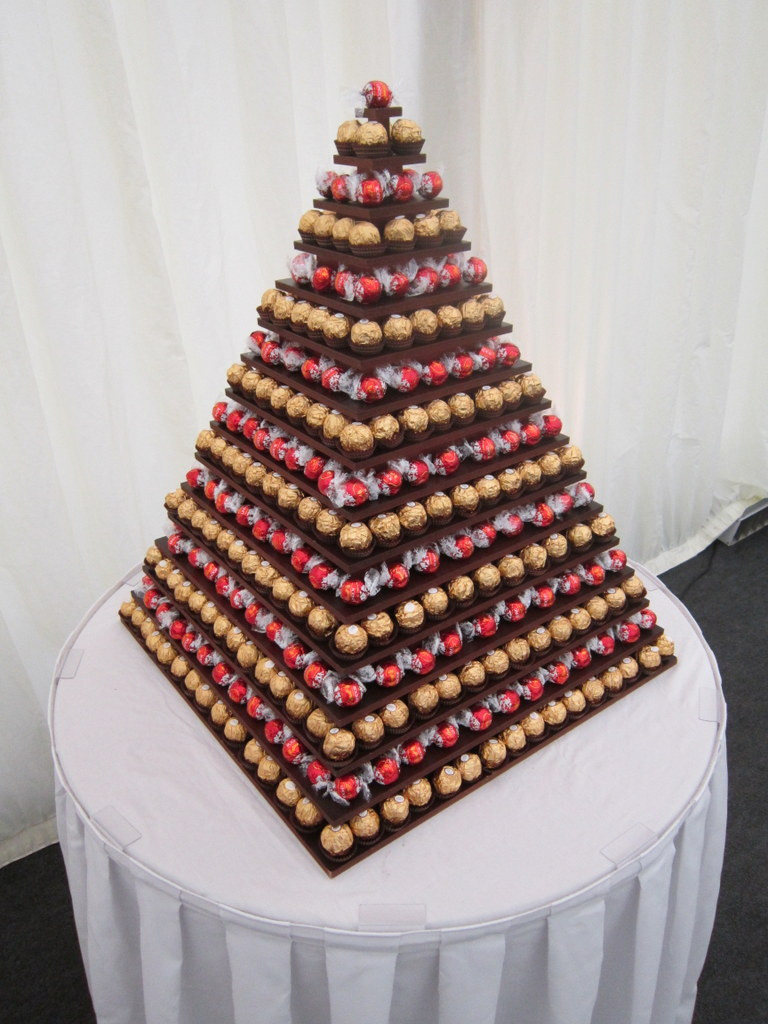 mixed lindt ferrero pyramid hire