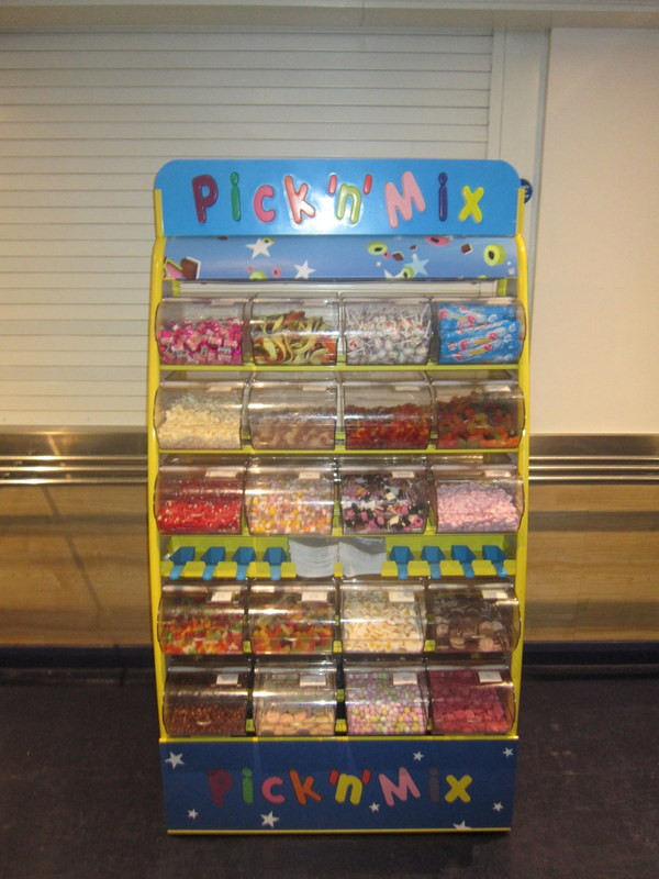 pick n mix leas cliff hall sweet stand