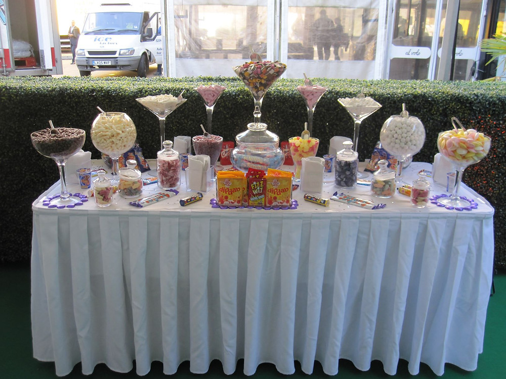 sweets cart hire