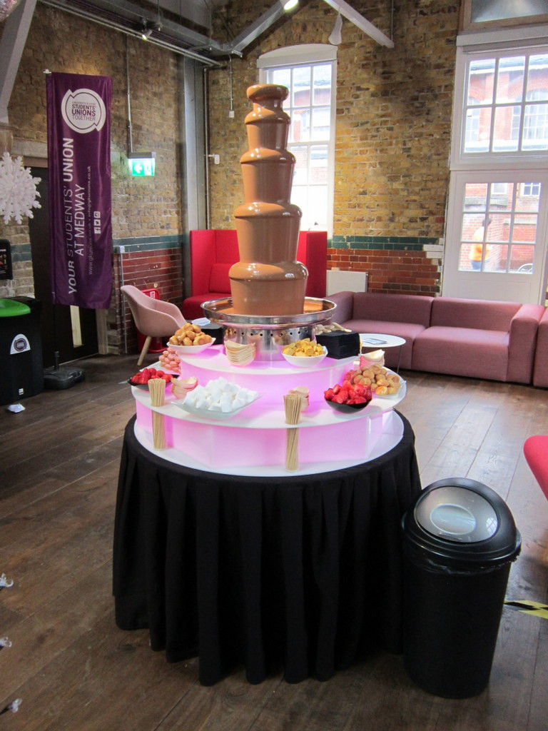 chocolate fountain hire medway