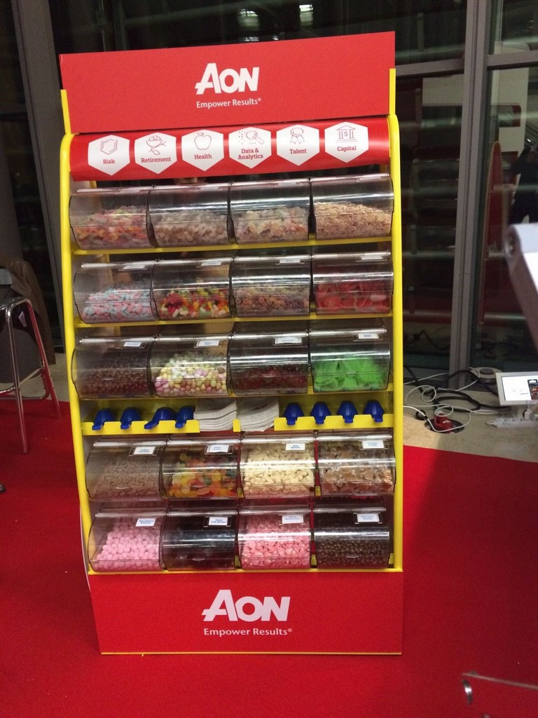 branded sweets event hire