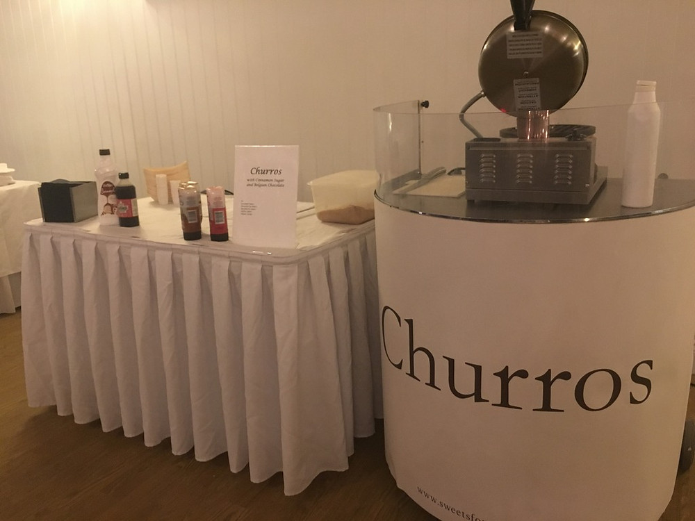 weddings churros hire