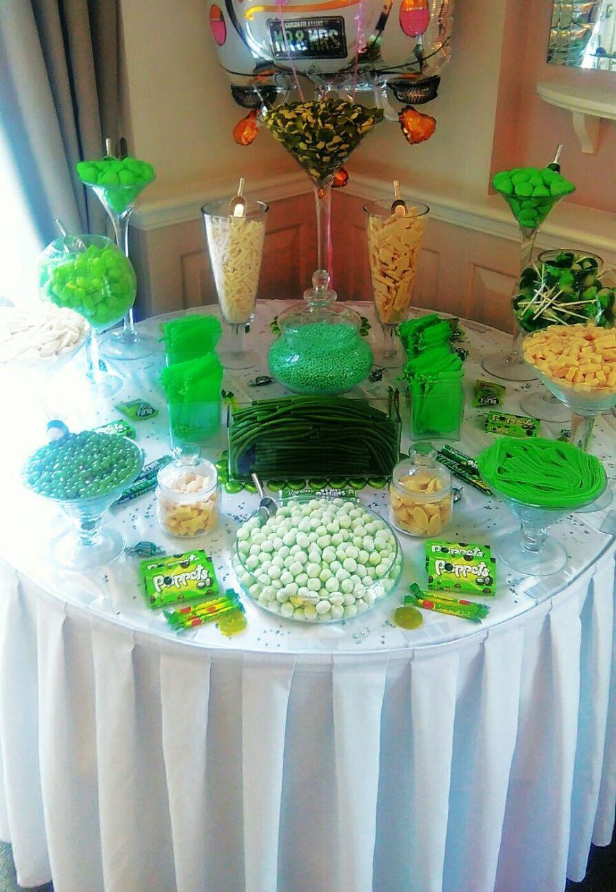 green sweet display