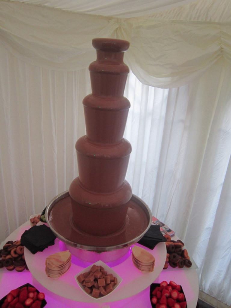 london chocolate fountain hire