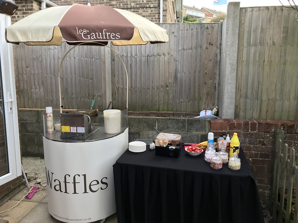 hire waffle cart party