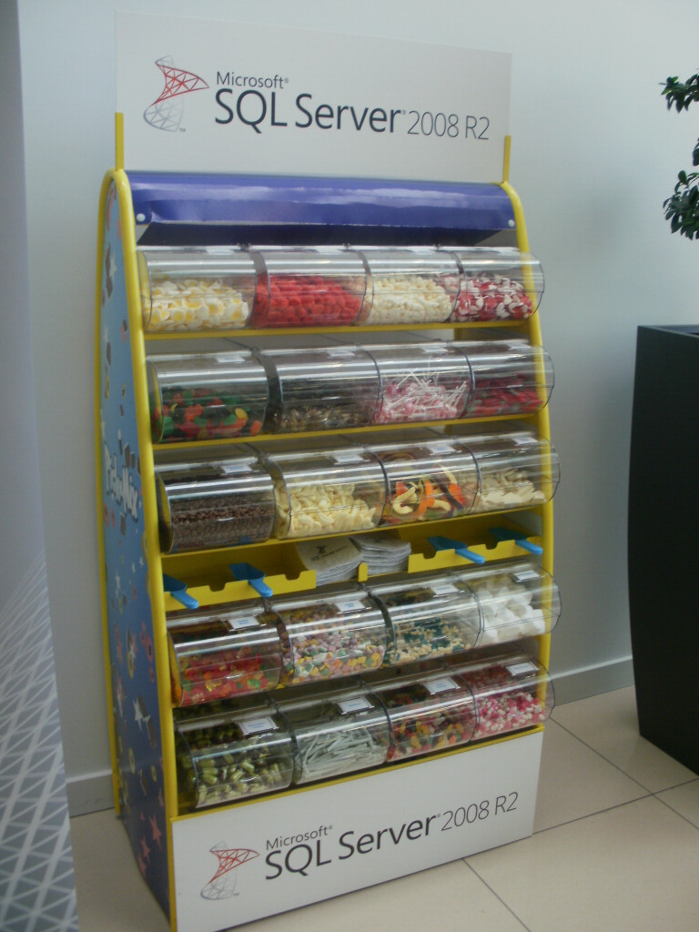 branded sweets display