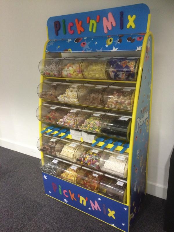 pick n mix sweets cinema hire