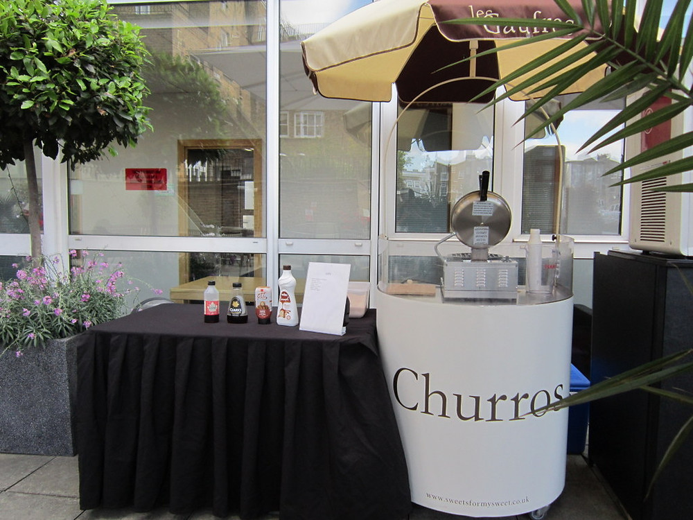 churros cart london
