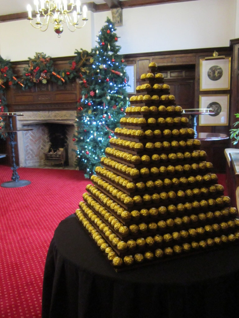 ferrero rocher tower hire