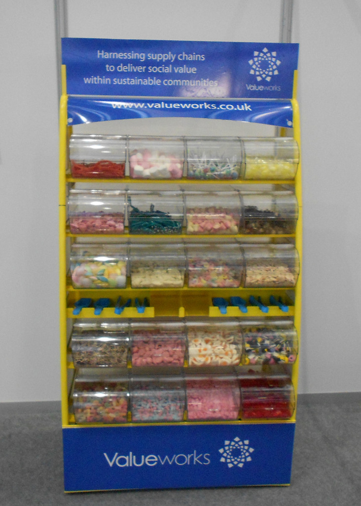 branded sweets for exhibition stand