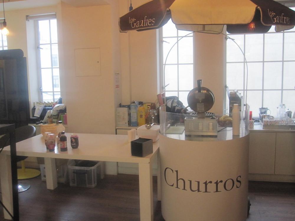 churros exhibition hire
