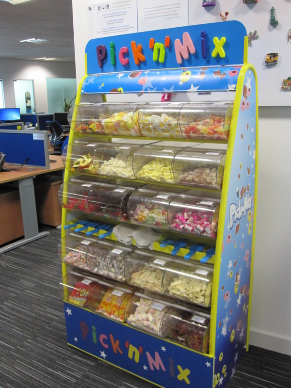 pick n mix office event