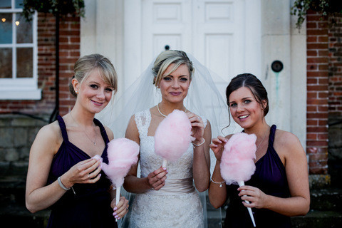 candy floss bride