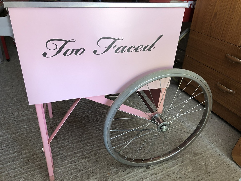branded candy floss event hire