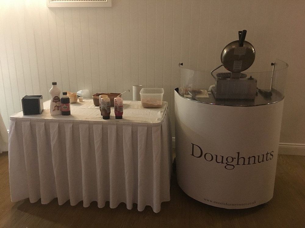 doughnut machine cart hire event