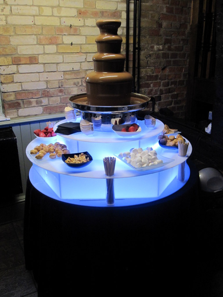 chocolate fountain hire events