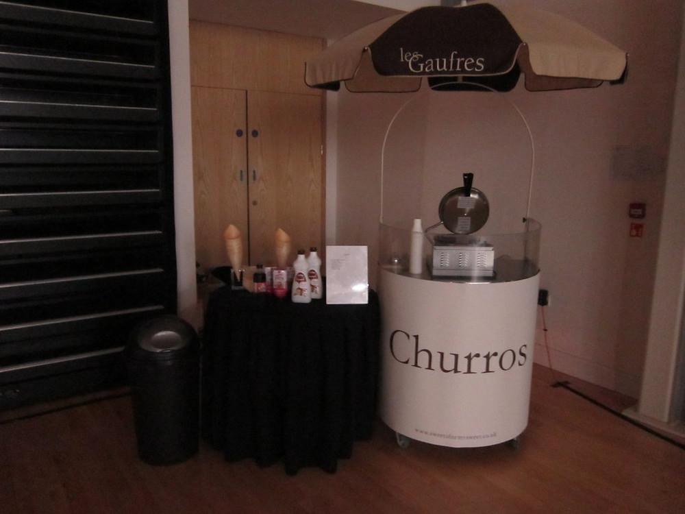 churros cart hire hertfordshire