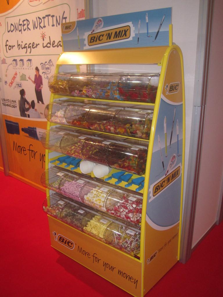 personalised sweet display stand