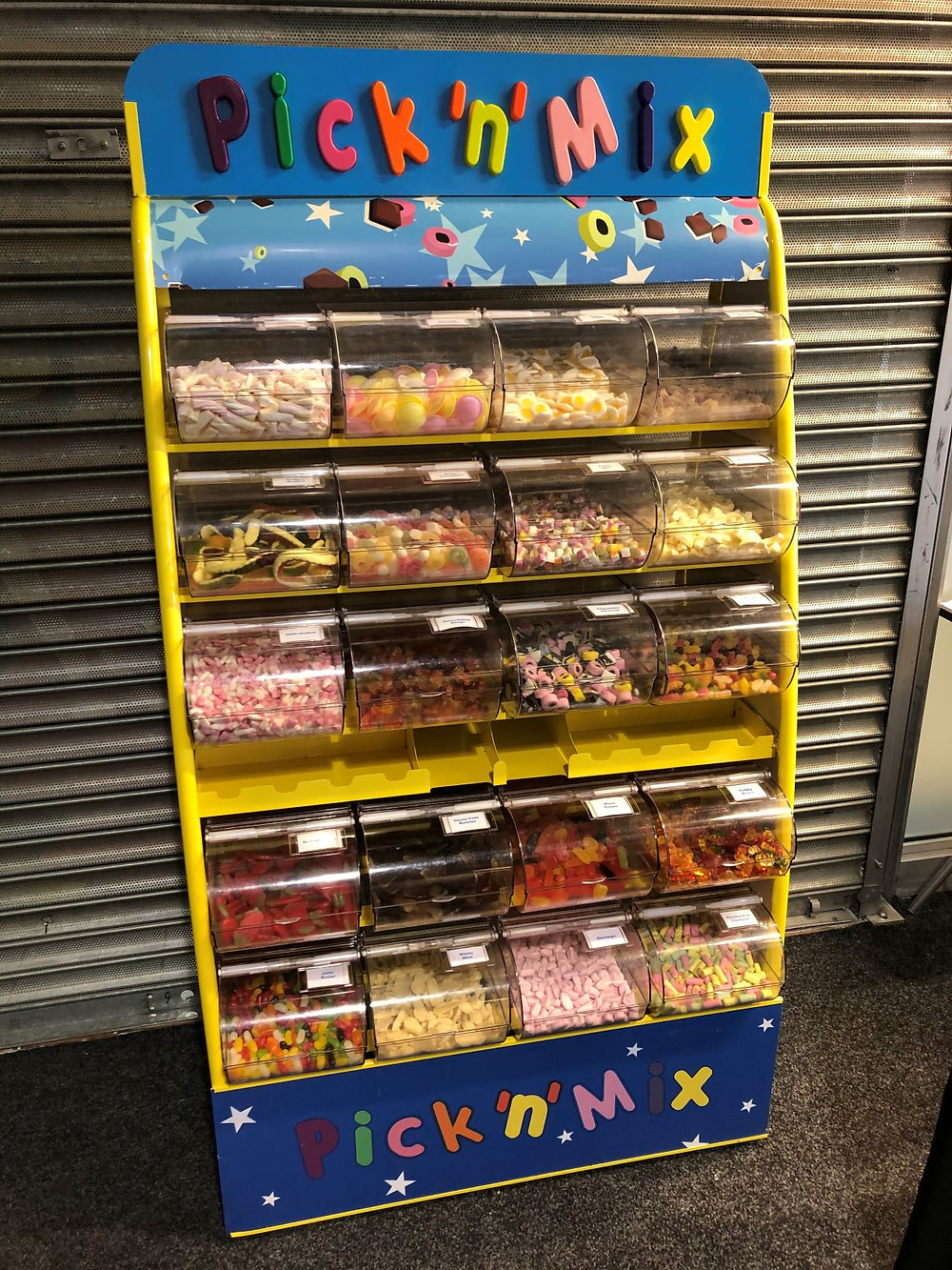 pick n mix van hire