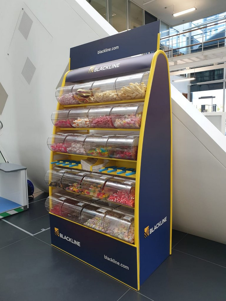 sweet stand promotional hire