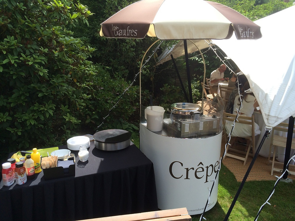crepes event hire outside