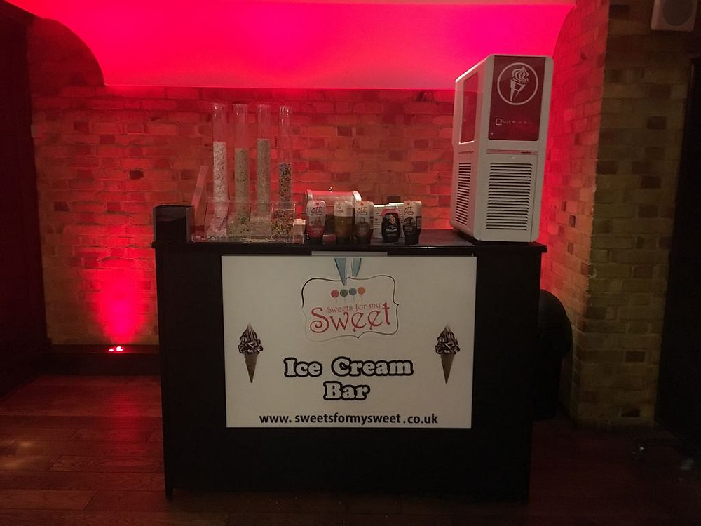 london ice cream machine hire