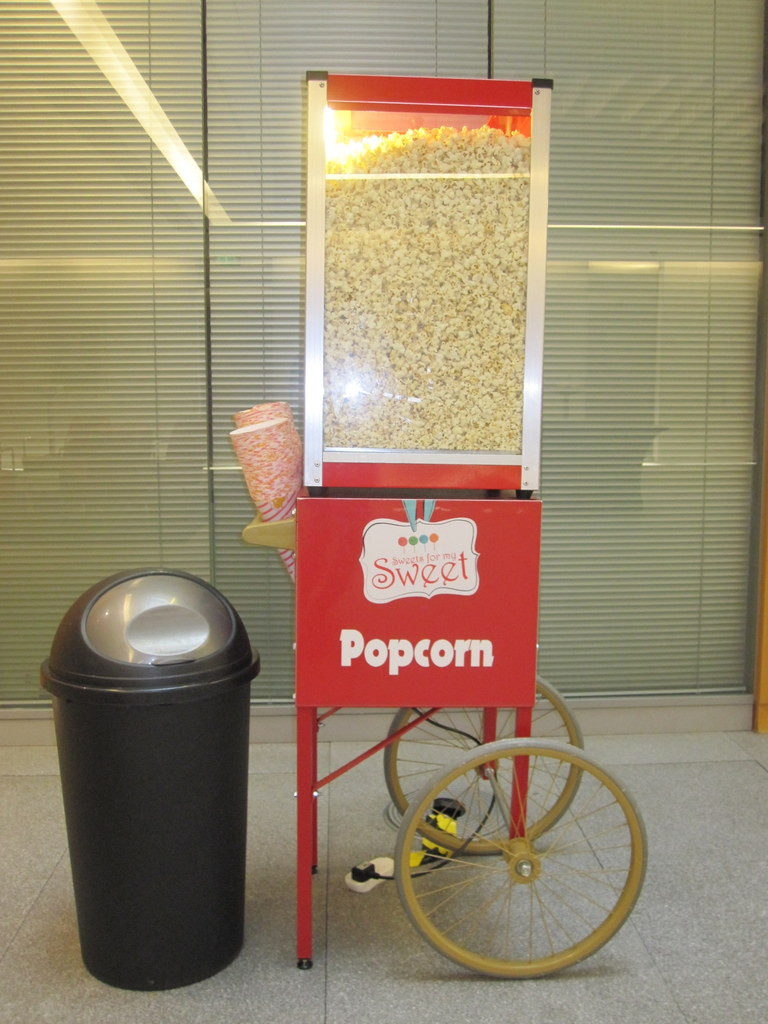 london office popcorn hire