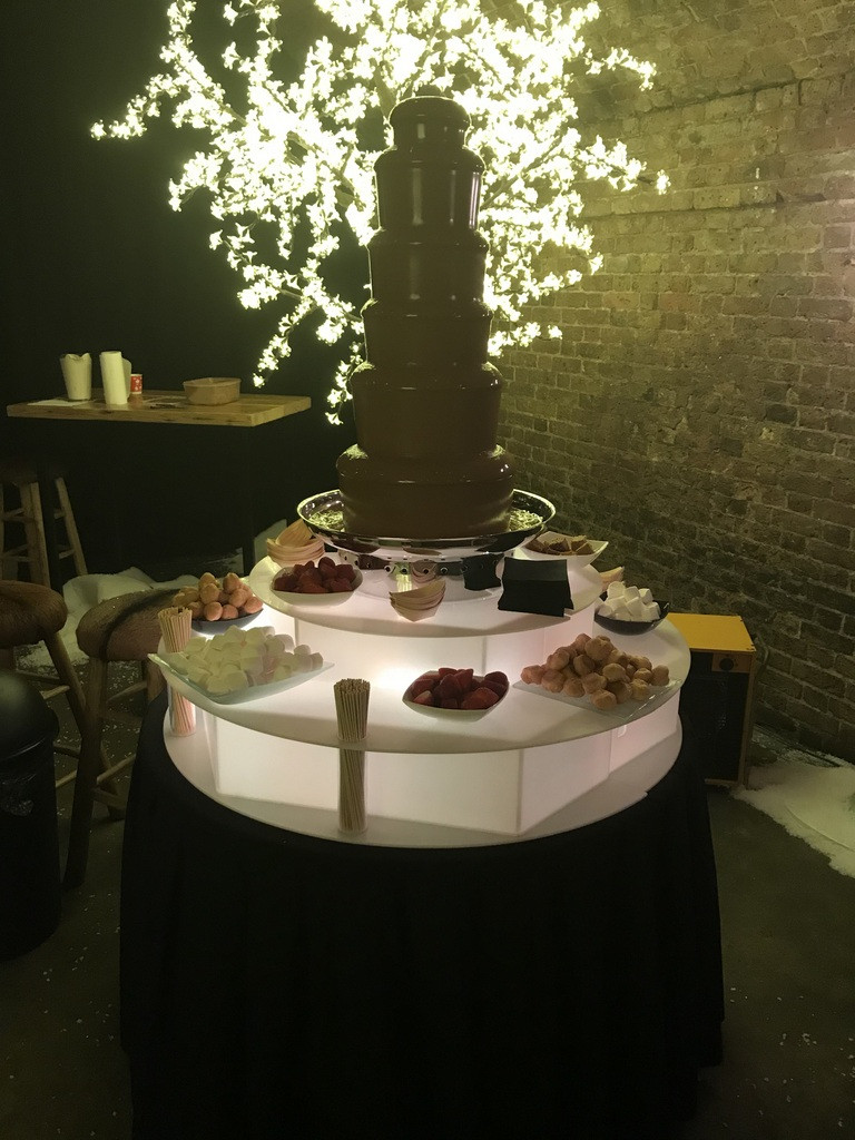 chocolate fountain hire in london