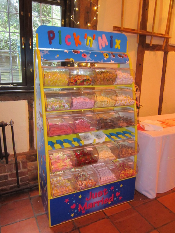 pic a mix sweets unit wedding