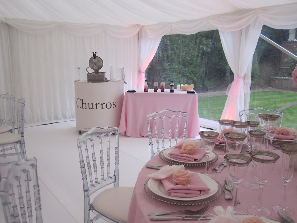 churros cart hire essex