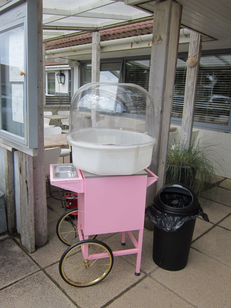candy floss cart hire camber sands
