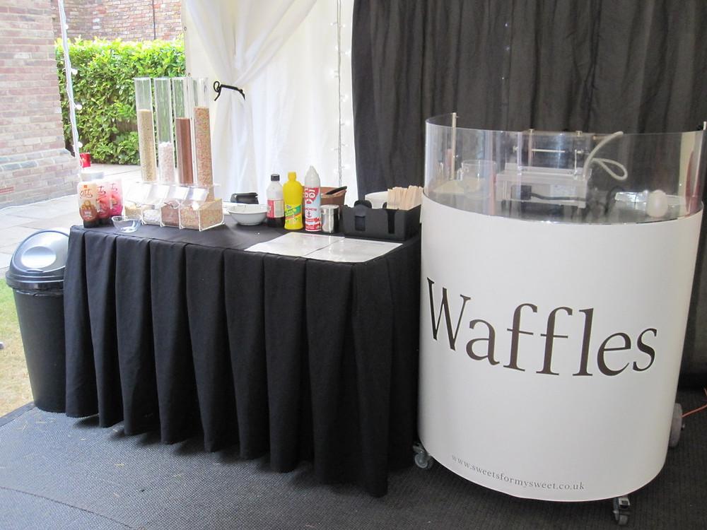 waffle maker hire london