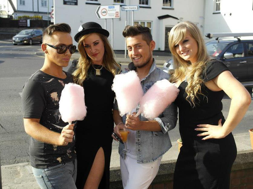 candy floss for guests