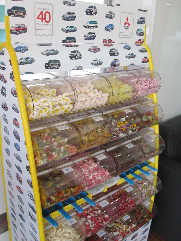 branded pick mix hire road show