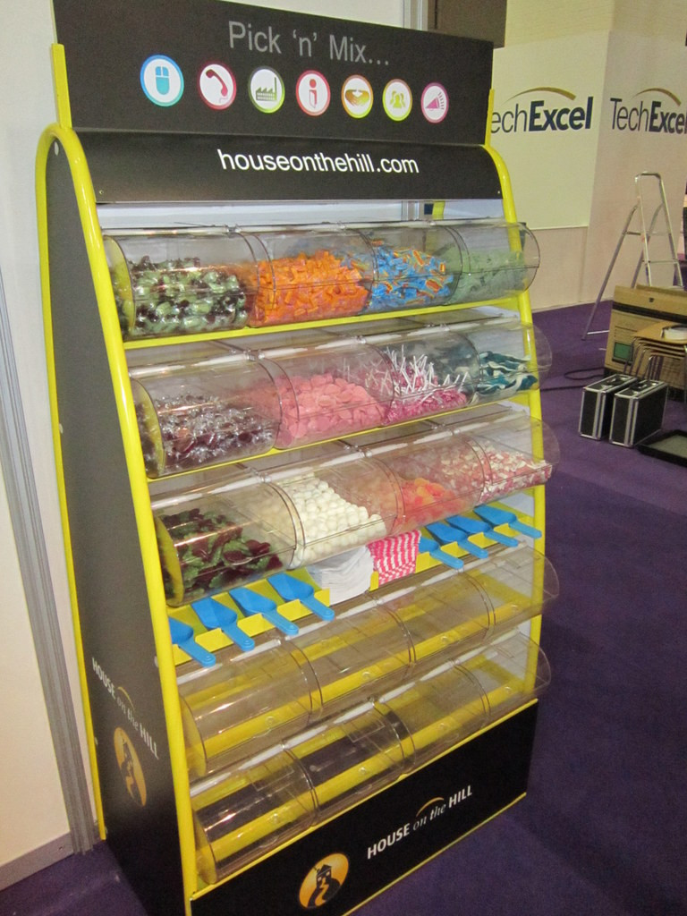 branded pick and mix hire