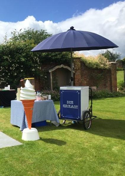 ice cream cart hire