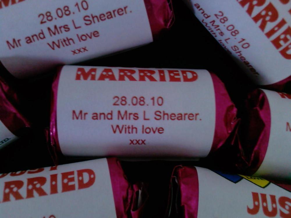 bespoke wedding love hearts