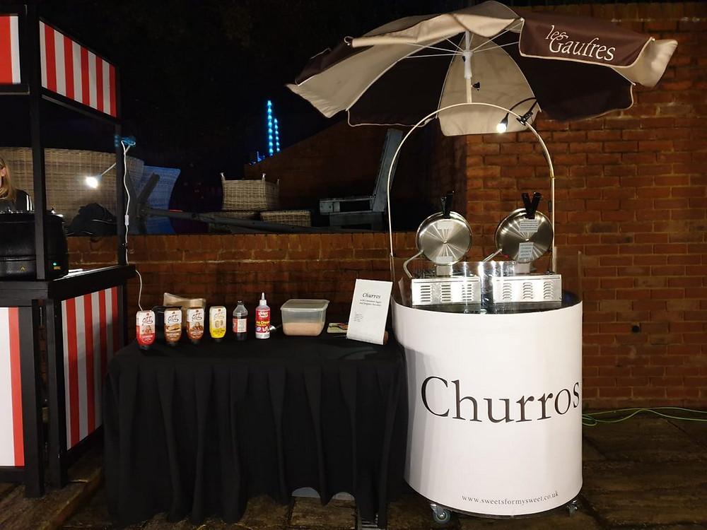 rent churros cart