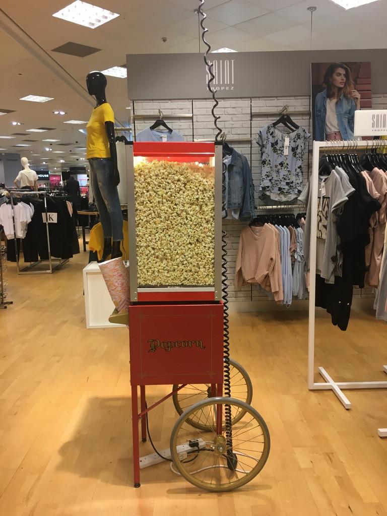 popcorn machines hire surrey