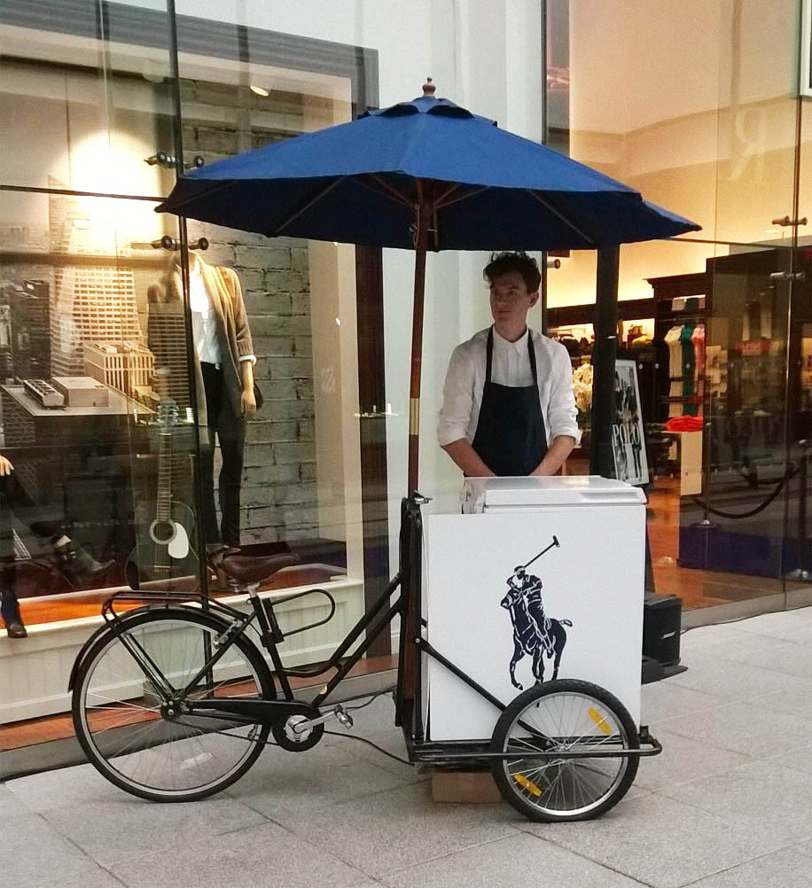 ice cream bicycle hire london