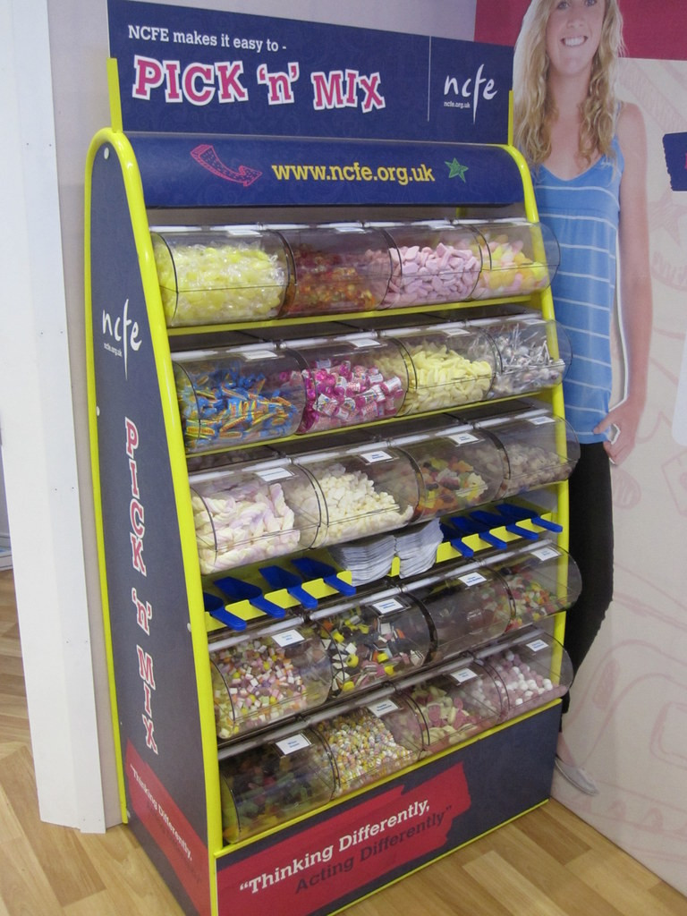 branded pick mix rental