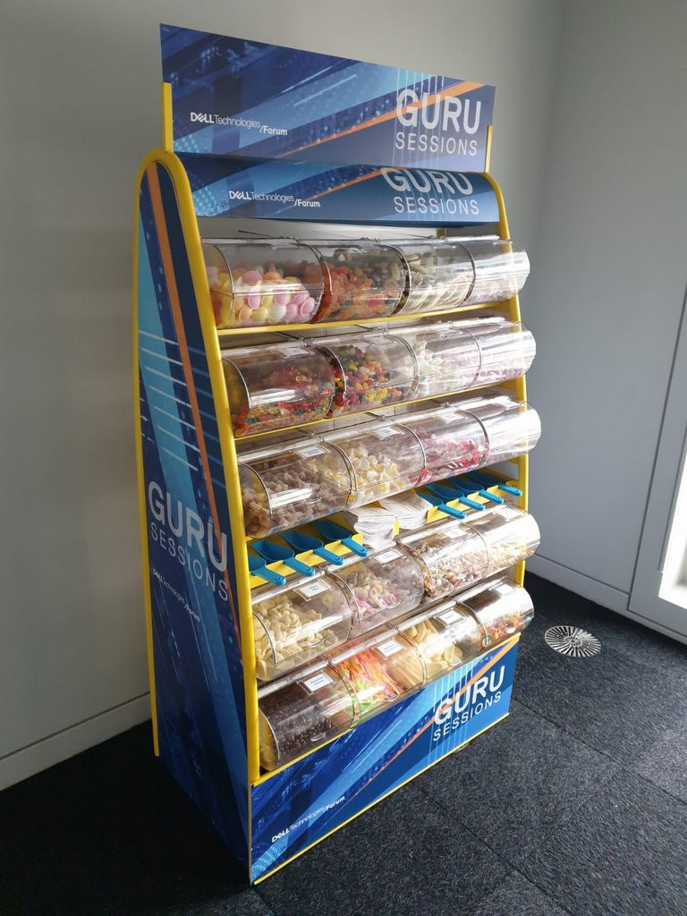 Branded Pick n Mix hire Ricoh Arena