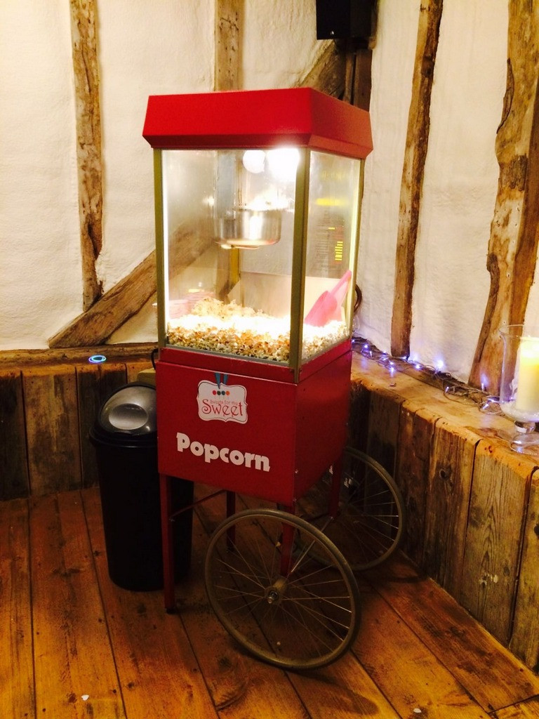 wedding popcorn carts