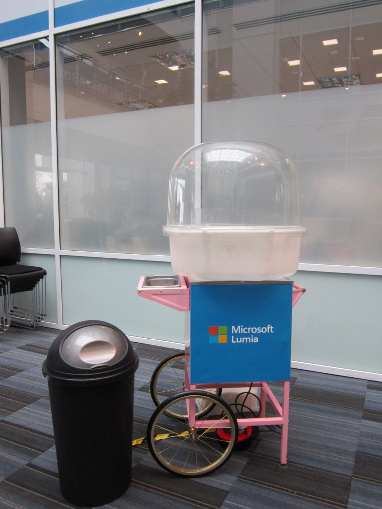 branded cotton candy cart hire