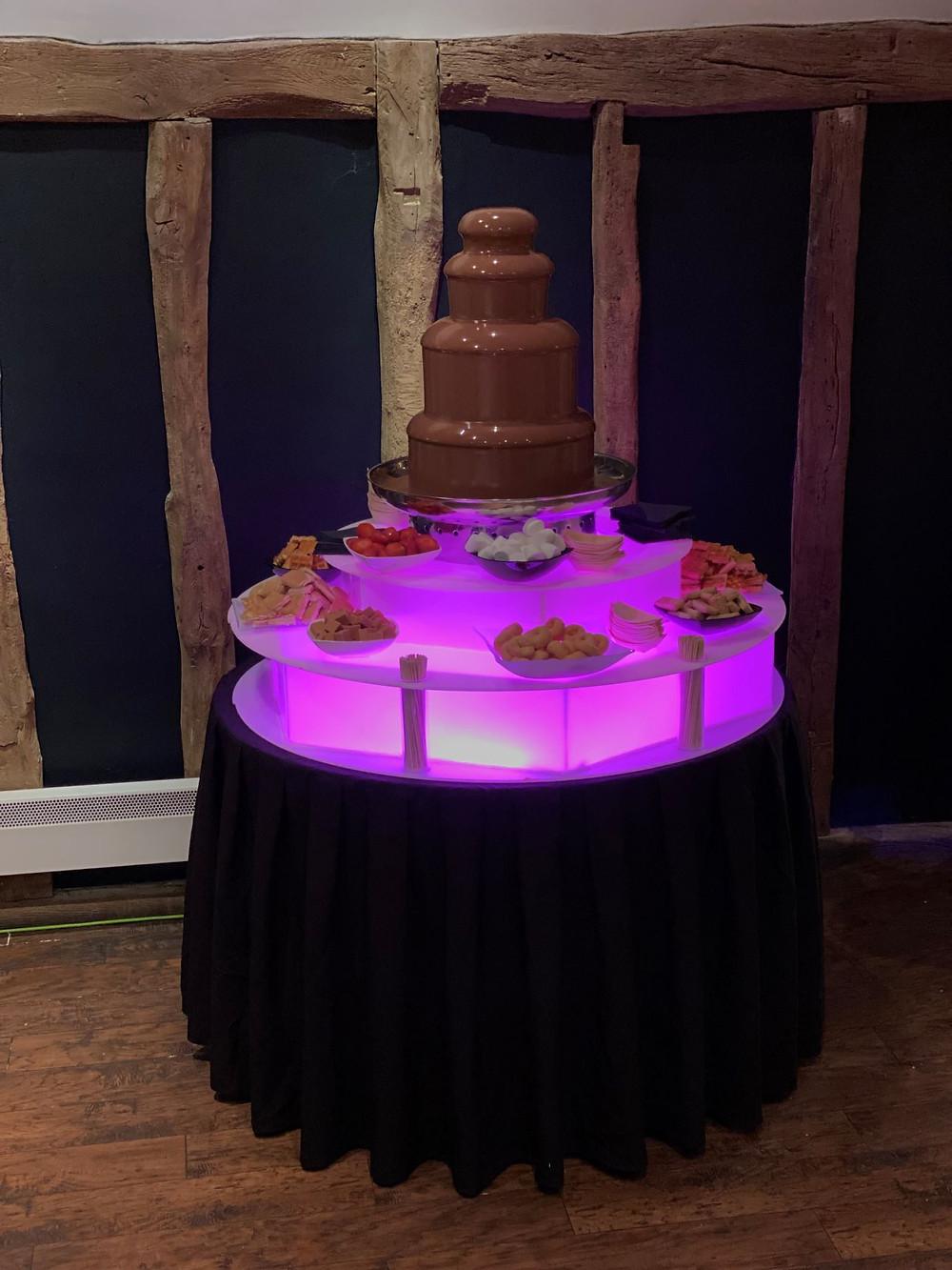 chocolate fountain hire birthday