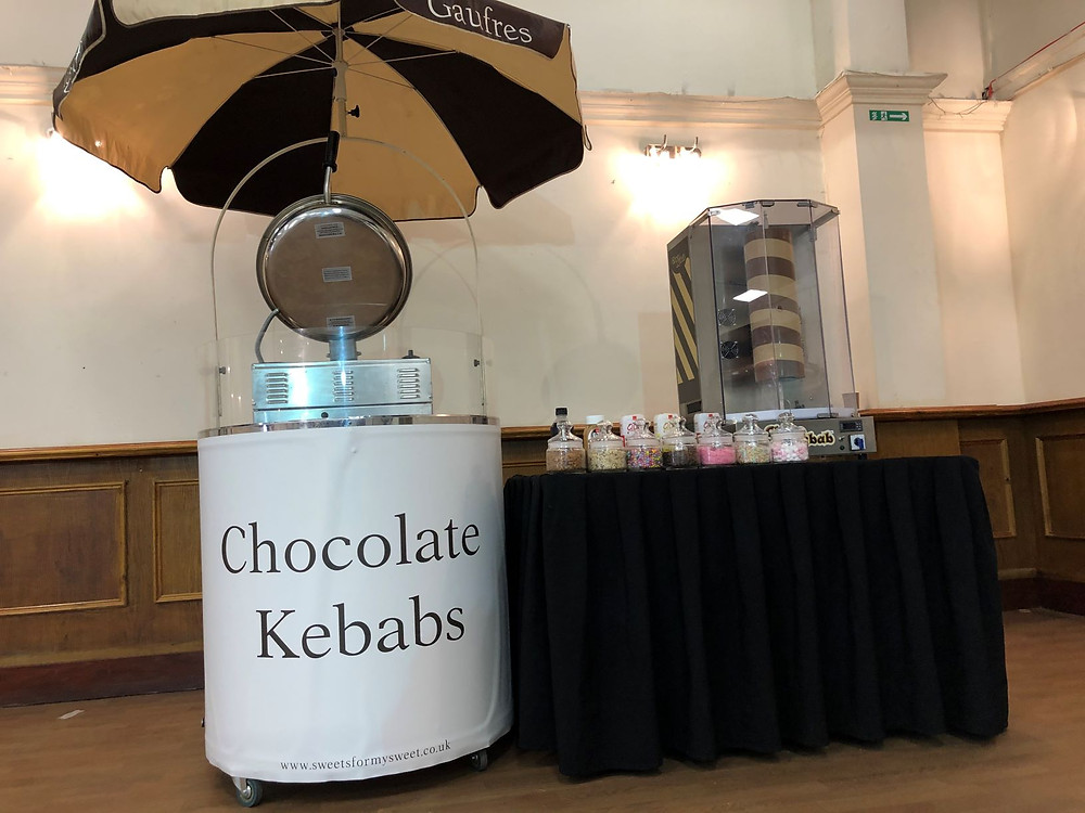 chocolate kebab cart hire london