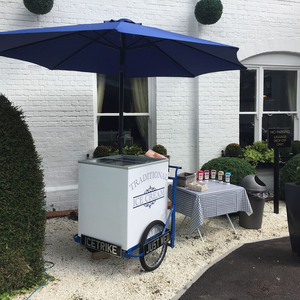 traditional ice cream tricyle hire